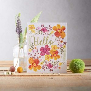 Hannah Marchant hello occasion card