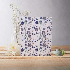 Hannah Marchant everyday plantable seed card, blue flowers