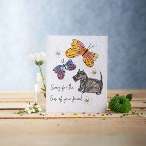 Hannah Marchant sorry for the loss of your friend occasion card