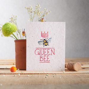 Hannah Marchant queen bee seasonal valentine card