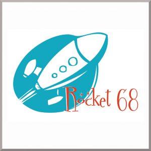Rocket 68 Logo