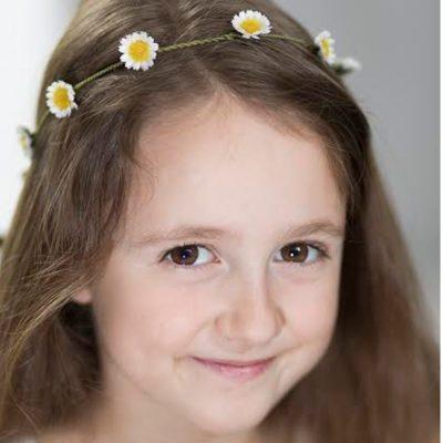 Daisy headband girl_1